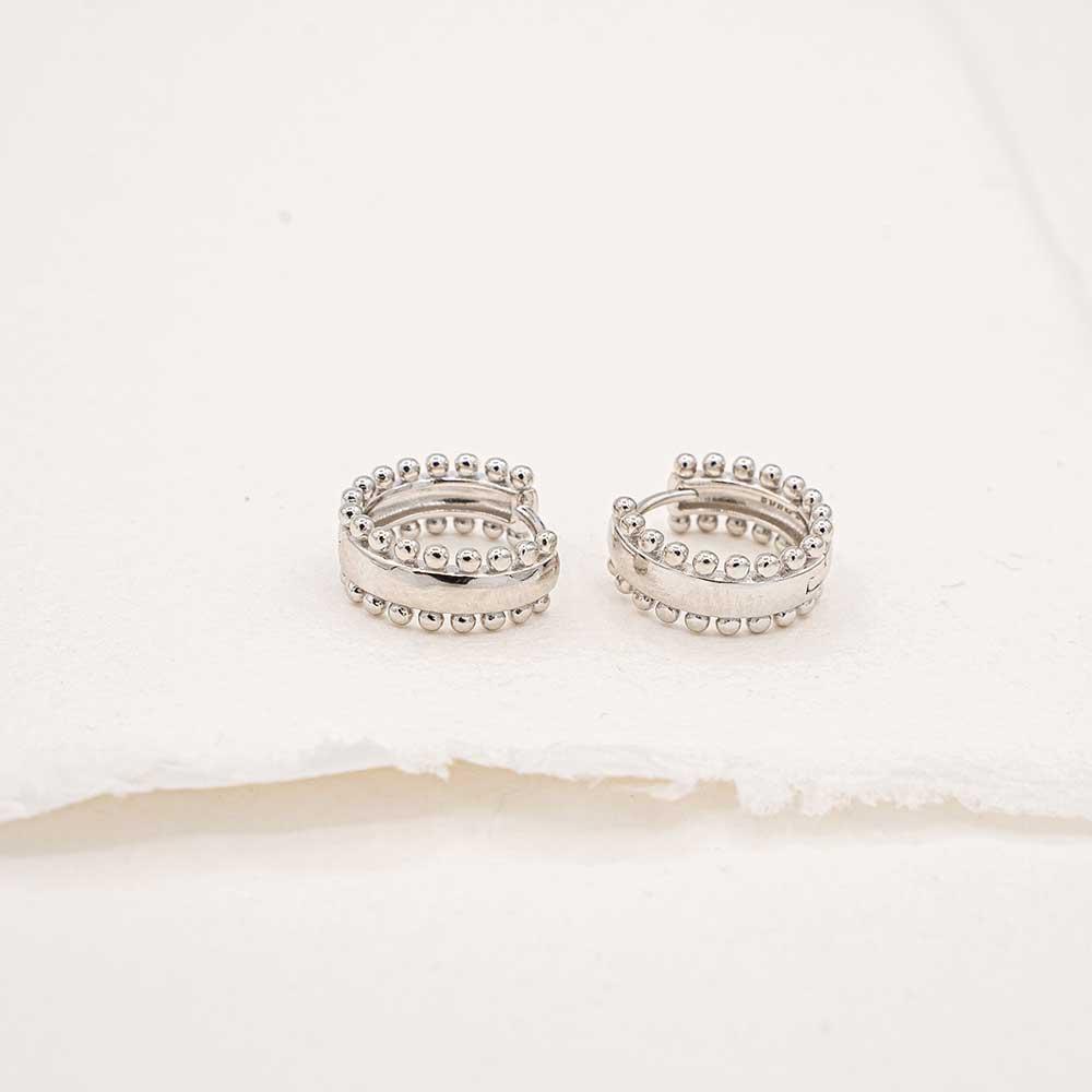anillo dione plata