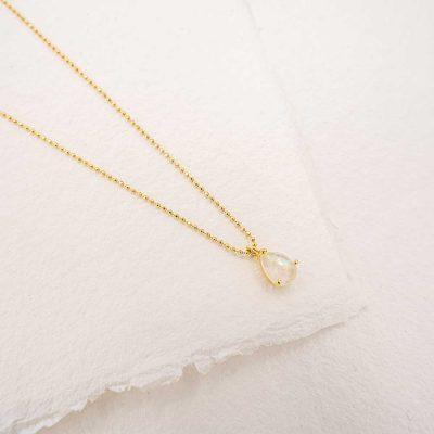 colgante diana oro