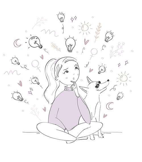ilustracion contacto