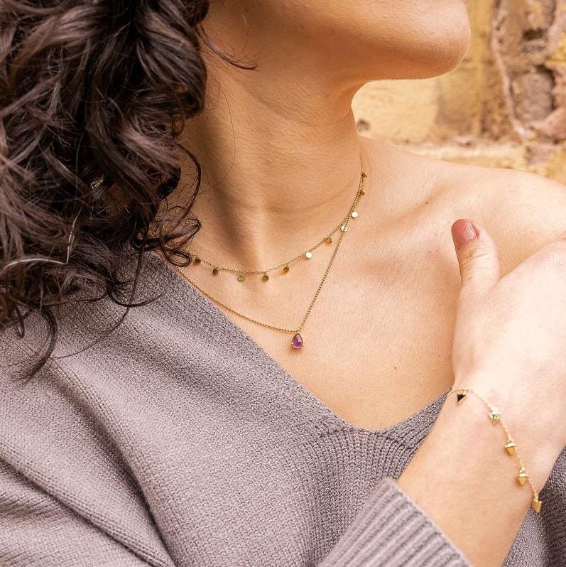 Collar Margaret Oro